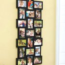 New Plastic 21-Photo Hanging Collage Photo Frame