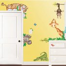 New Jungle Themed Room FX Jumbo Wall Decor Appliqués