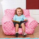 Red Kids' Beanbag Mi Chairs, Polyester with polystyrene fill