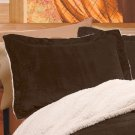 "New  20"" x 26"" Polyester Chocolate Brown Pillow Case Sham"