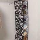 New Animal Print Zebra Storage Organizer 6 - Shelf Hanger
