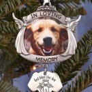 New Photo Pet Dog Memorial Ornament for Christmas Tree Decoration