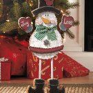 "New 20"" Standing Holiday Christmas Snowman Figure"