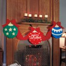 "New 8-Ft. Battery Operated Lighted Holiday "" Merry Christmas "" Bunting"