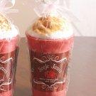 New Jingle Jitters Latte Vanilla Cinnamon Wax Candle