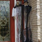 New Hanging Halloween Skeleton Bride & Groom Porch Decor