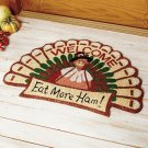 New Turkey Shaped Fall Doormat