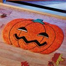 New Jack-O'- Lantern Shaped Fall Doormat