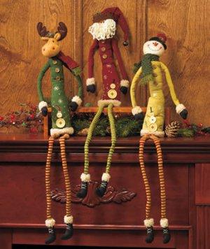"New Snowman 39"" Long-Legged Holiday Friend"