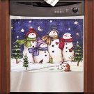 New Snowman Dishwasher Magnet Art