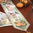 "New Scarecrow 72"" Tapestry Runner"
