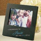 New Humorous Wooden Frame Childproofed the House