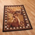 "New Wildlife Hunting Deer 39"" x 59"" Decorative Rug"