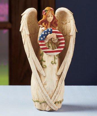 New Seasonal Angel Figurine w/ 5 Seasonal Wreaths
