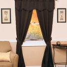 5-Pc. Blackout Curtain Set Chocolate Brown