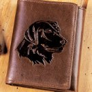 New Labrador Genuine Leather Tri-Fold Wallet
