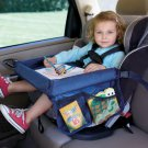 New On the Go Fun and Snack Nylon Kids Travel Tray