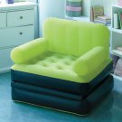 New Lime Green Multi-Max Inflatable Air Chair / Bed Great for Camping