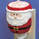 New Christmas Holiday Santa Tart Warmer Night Light