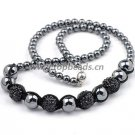 Shamballa Jewelry Necklace