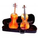 Crystalcello MV700 1/2 Size Antique Finish Flamed Orchestra Violin