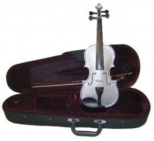 Crystalcello MA100SV 14 inch SILVER Viola with Case