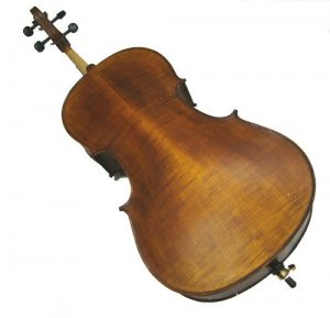 Rugeri MC600 4/4 Size Hand Made Solid Wood Antique Style High Flamed Cello