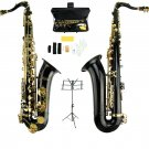 Merano B Flat BLACK Tenor Saxophone with Hard Case+Free Music Stand