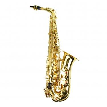 MERANO E Flat Gold Alto Saxophone with Case