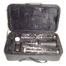MERANO B Flat BLACK Clarinet with Zippered Carrying Case+Extra 10 Reeds