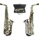 MERANO E Flat Silver Alto Saxophone with Zippered Hard Case