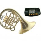 MERANO Bb Key 3 Valve Single French Horn with Case and Free Metro Tuner