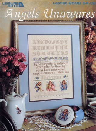 Angels Unaware Counted Cross Stitch Leaflet Pattern