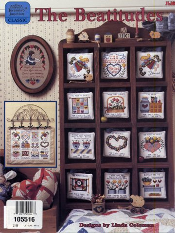 The Beatitudes Cross Stitch Leaflet Country and Mini Quilt Motifs Pattern