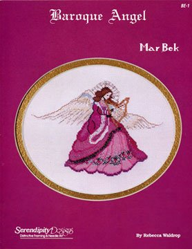 Serendipity Designs Baroque Angel Mar Bek Cross Stitch