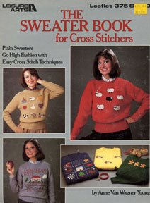 How To Cross Stitch on Sweaters Leaflet Leisure Arts Sheep Sampler Patterns