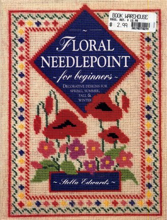 Floral Needlepoint for Beginners Book
