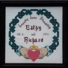 Irish Claddagh Knotwork Wedding Sampler