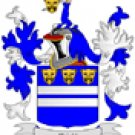 Wright Coat of Arms in Cross Stitch