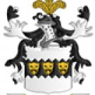West Coat of Arms in Cross Stitch