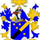 Schmidt Coat of Arms in Cross Stitch