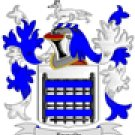 Reynolds Coat of Arms in Cross Stitch