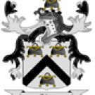 Palmer Coat of Arms in Cross Stitch