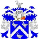 Mitchell Coat of Arms in Cross Stitch