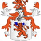 Morgan Coat of Arms in Cross Stitch