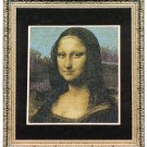 Mona Lisa Finished and Framed Cross stitch