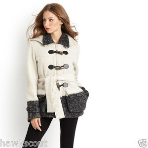 Adam Lippes Wool Mohair Boyfriend Duffle Coat Size M $695.+NWT