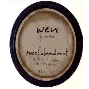 WEN Sweet Almond Mint RE MOIST HAIR TREATMENT LARGE 4 oz NEW & SEALED