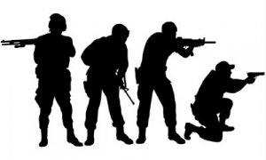 ENTRY TEAM SWAT TEAM POLICE  VINYL DECALS STICKERS