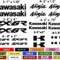 KAWASAKI ZX-6R CHOOSE YOUR COLOR VINYL DECALS STICKERS MOTORCYCLE RACING